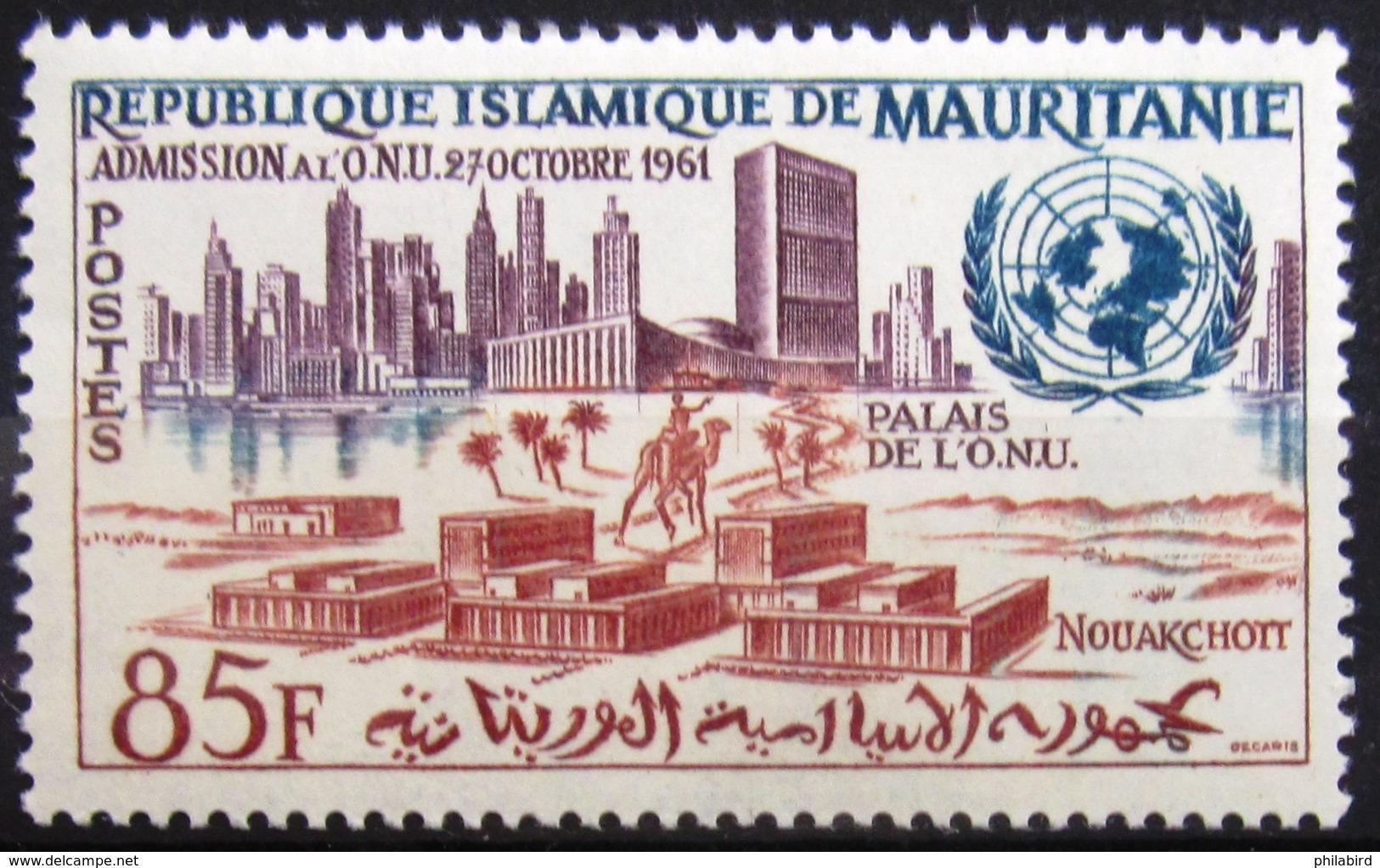 MAURITANIE                      N° 158                       NEUF** - Mauritanie (1960-...)