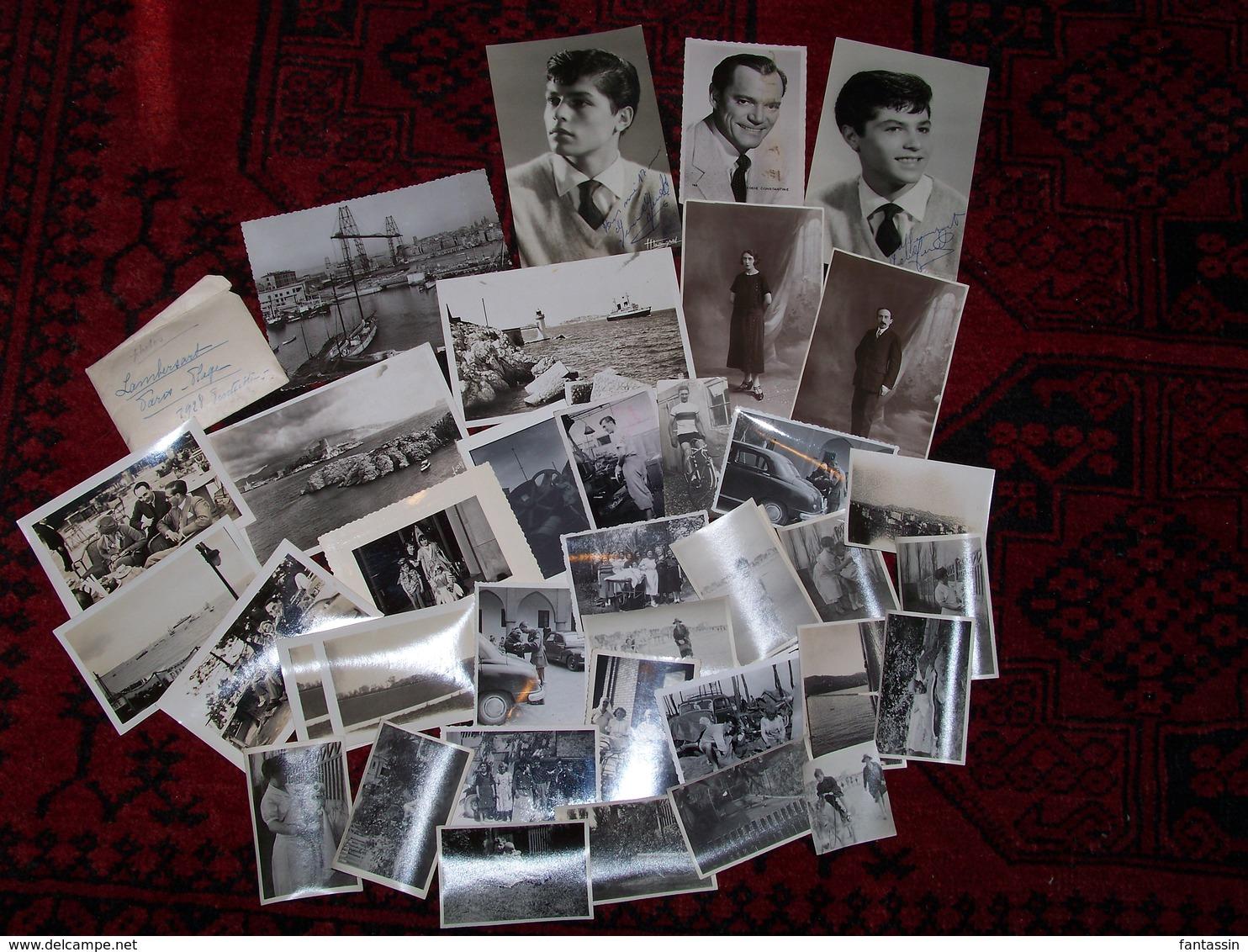 Lot De Photographies Ancienne Divers...... - Photographie