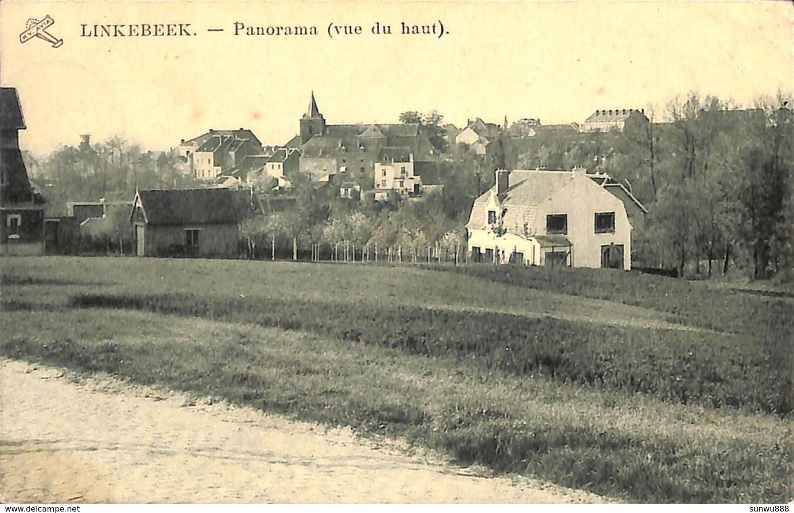 Linkebeek - Panorama (vue Du Haut) (Edit H Van Acker 1928) - Linkebeek