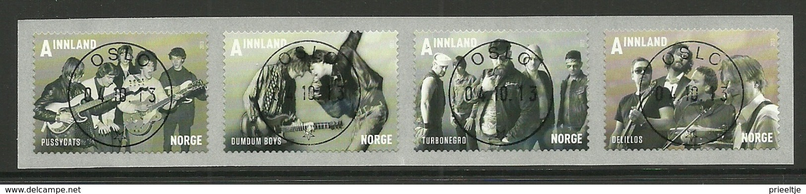 Norway 2013 Music Strip Central Y.T. 1779/1782 (0) - Noorwegen