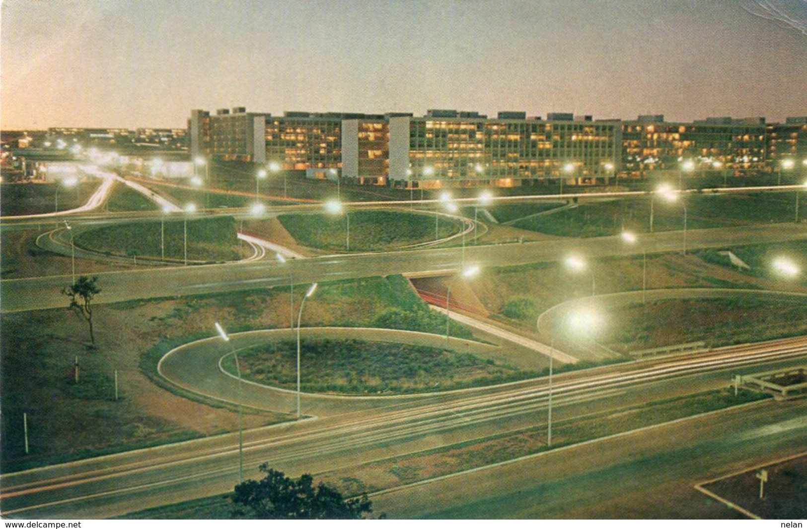 BRASILIA-ASPECTO DAS PASSAGENS DE NIVEL - Brasilia