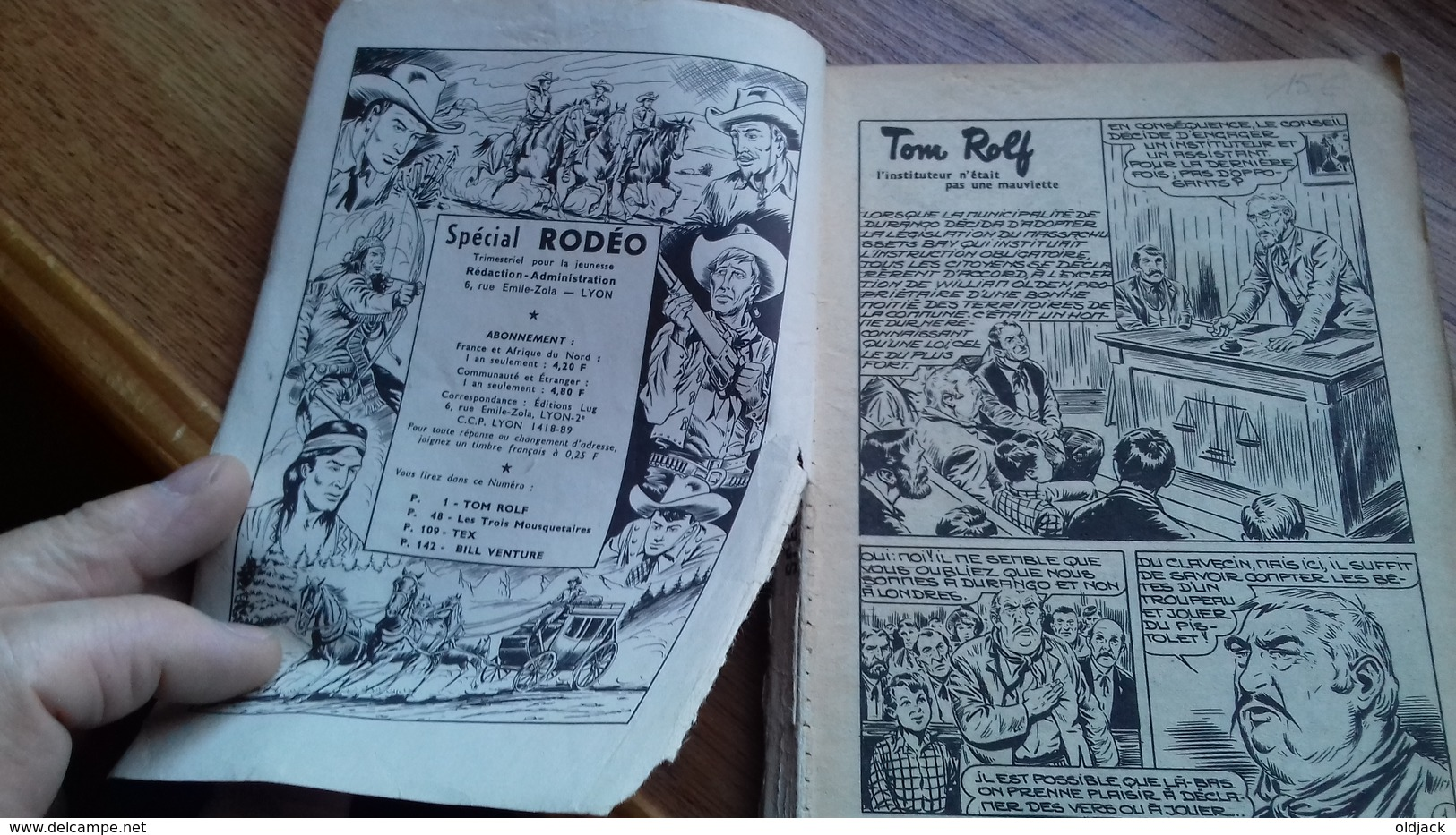 RODEO SPECIAL N°10.trimestriel 06/1964 (192 Pages)(col1e) - Rodeo