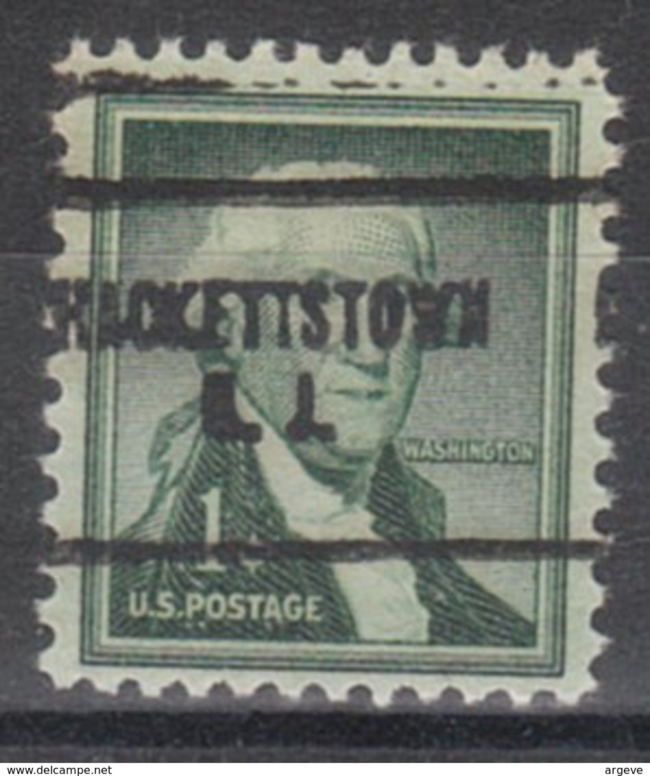 USA Precancel Vorausentwertung Preo, Locals New Jersey, Hackettstown 704 - Vereinigte Staaten