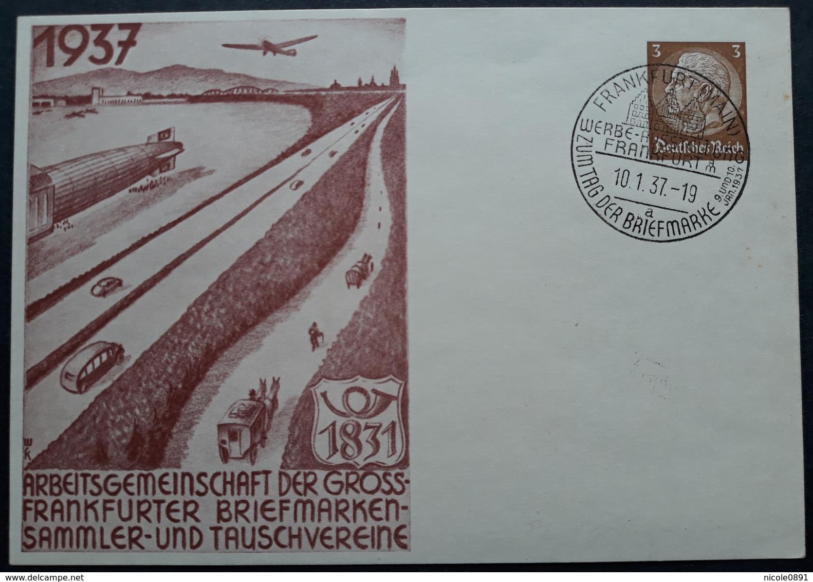 DR Privatganzsache PP122 C65 Mit Sonderstempel (1399) - Deutschland