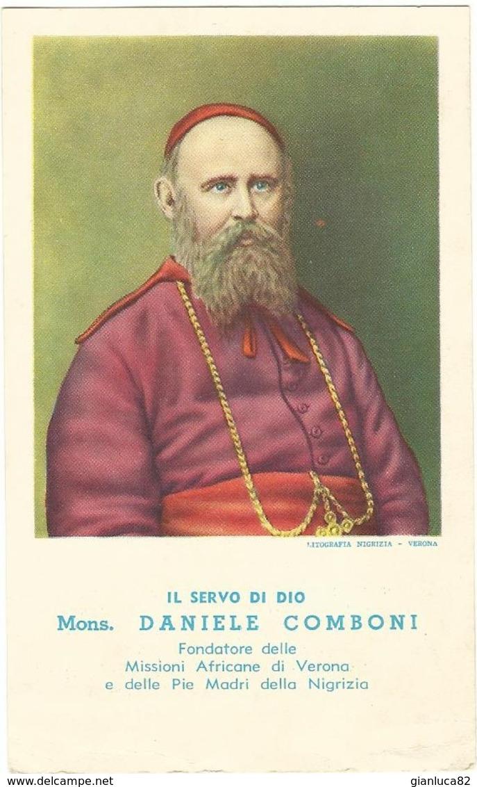 Lotto Di N. 3 Santini Daniele Comboni Con Novena Al SS. Cuore Di Gesù (470-472) - Santini