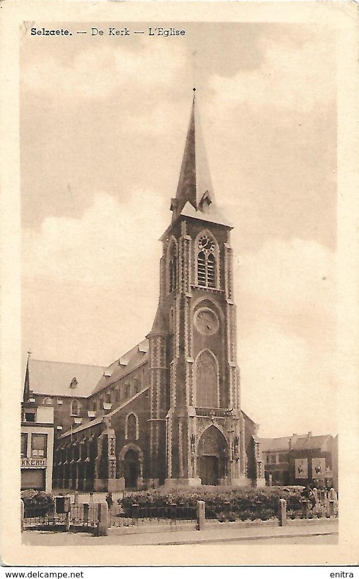 Selzaete - De Kerk - L'Eglise - Zelzate
