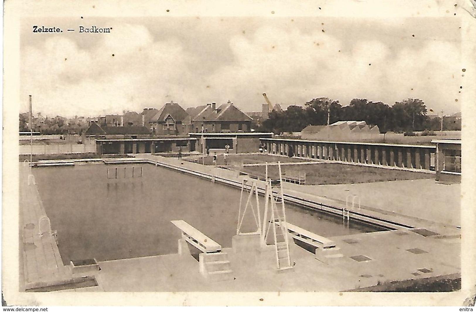 Zelzate - Badkom (openluchtzwembad) - Zelzate
