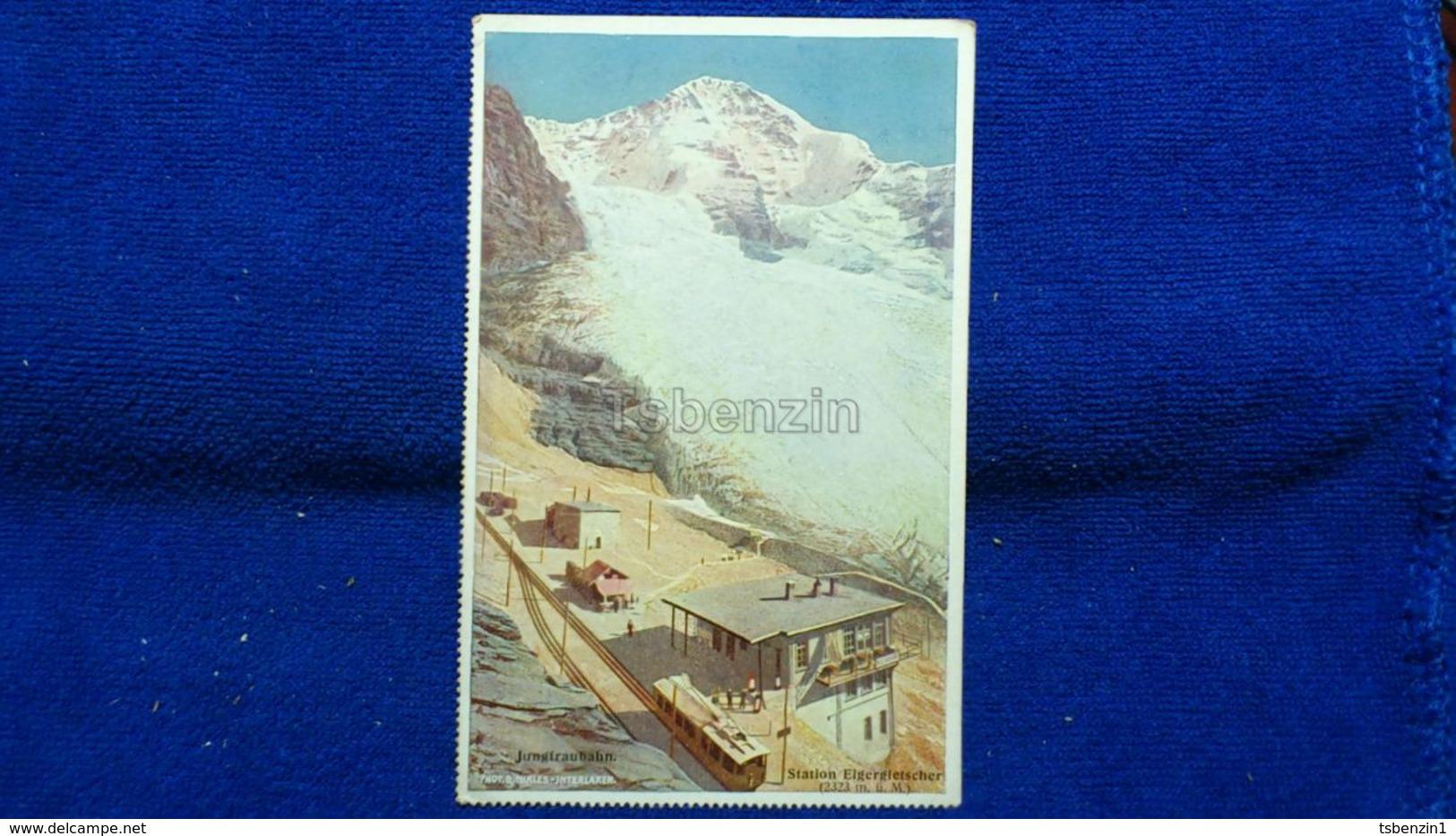 Jungfraubahn Station Eigergletscher Switzerland - BE Berne
