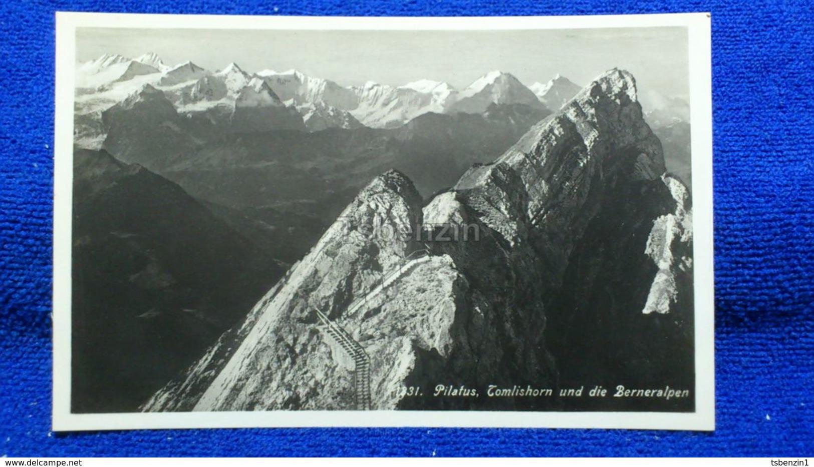 Pilatus Tomlishorn Und Die Berneralpen Switzerland - BE Berne