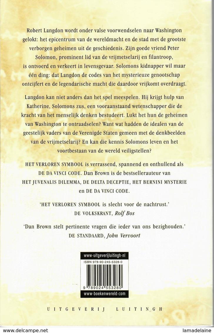 Het Verloren Symbool (Dan Brown) (Luitingh 2009) - Horror En Thrillers