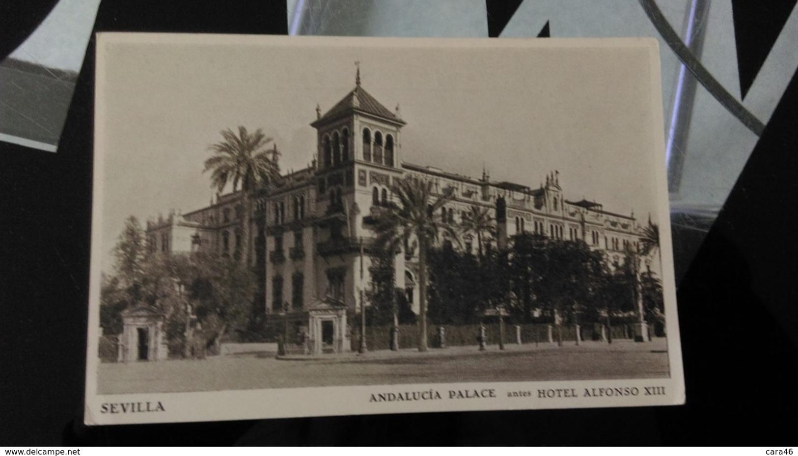 CPA - Sevilla - Andalucia Palace - Altri
