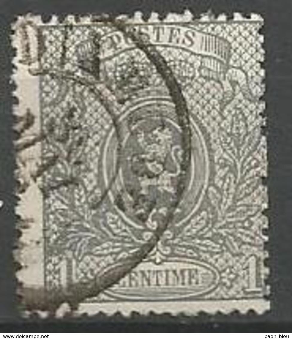 """Belgique - """"Emission Petit Lion"""" - N°23A - Obl.DC DIXMUDE 30 MAI - 1866-1867 Coat Of Arms"""