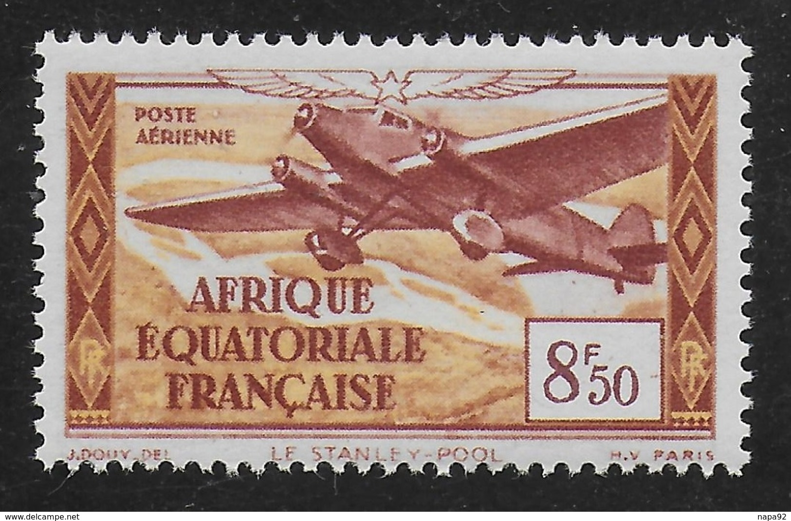 AFRIQUE EQUATORIALE FRANCAISE - AEF - A.E.F. - 1937 - YT PA 7** - MNH - A.E.F. (1936-1958)