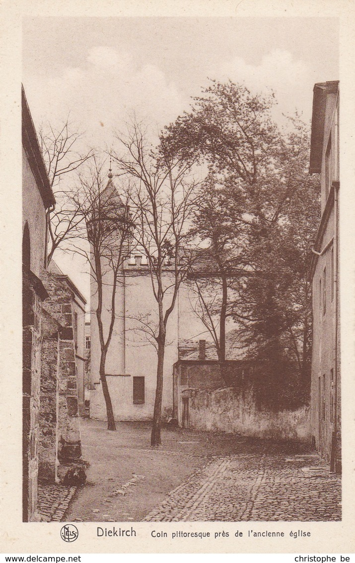 Luxembourg, Diekirch, Coin Pittoresque Pres De L'ancienne église (pk68276) - Diekirch