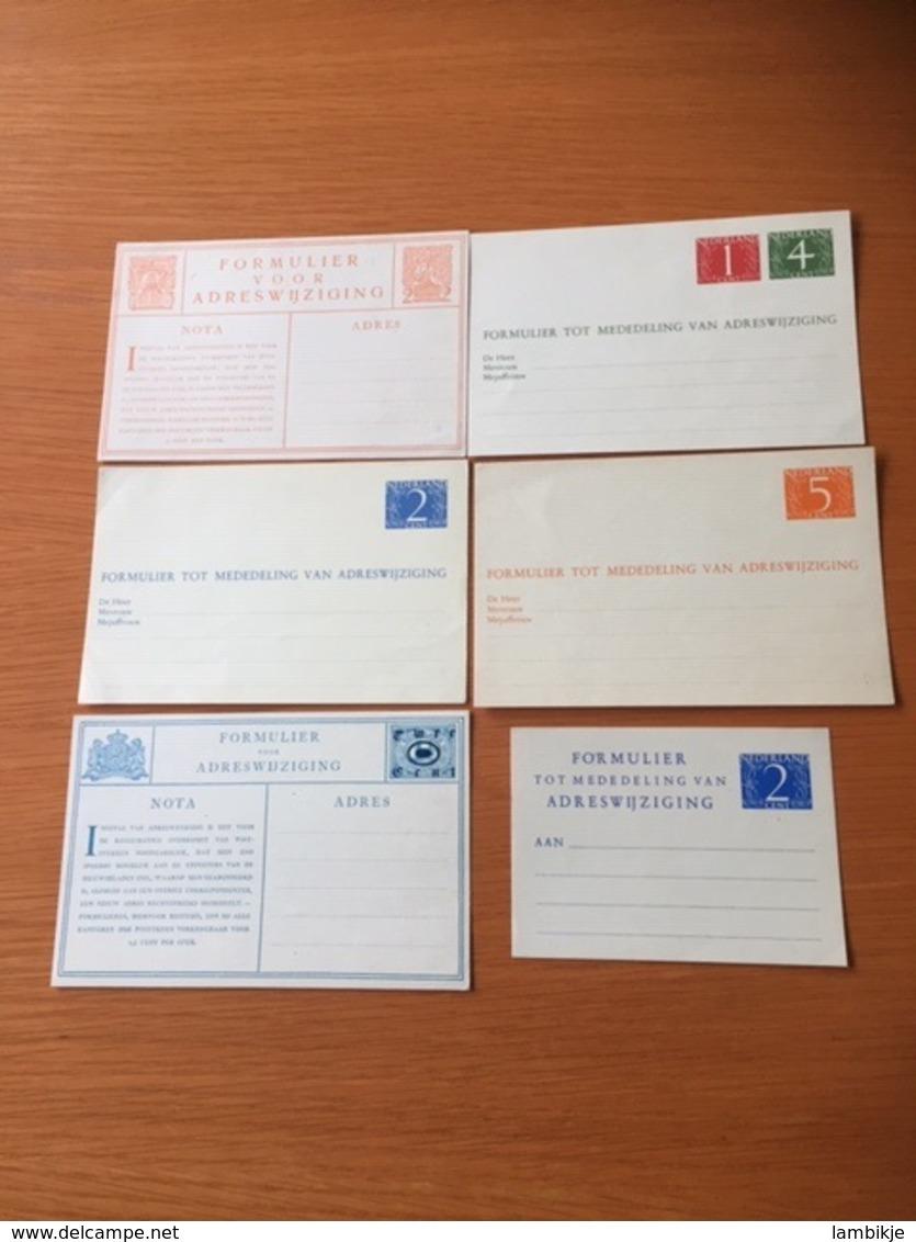 +++ Sammlung 6 Address Cards Netherlands From 1932  +++ - Sammlungen (ohne Album)