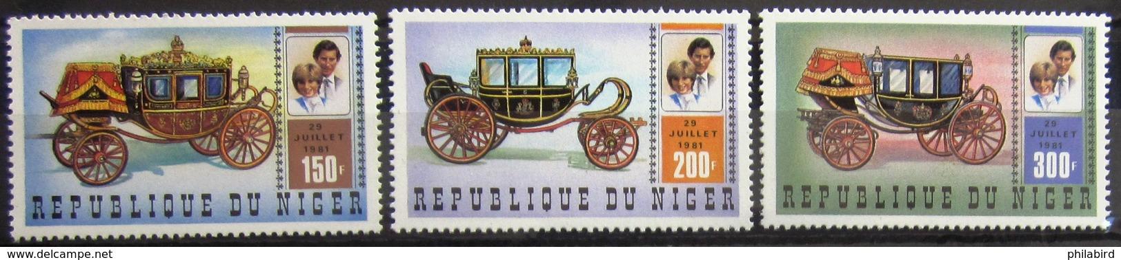 NIGER                       N° 541/543                       NEUF** - Niger (1960-...)