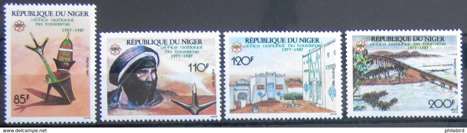 NIGER                       N° 742/745                        NEUF** - Niger (1960-...)