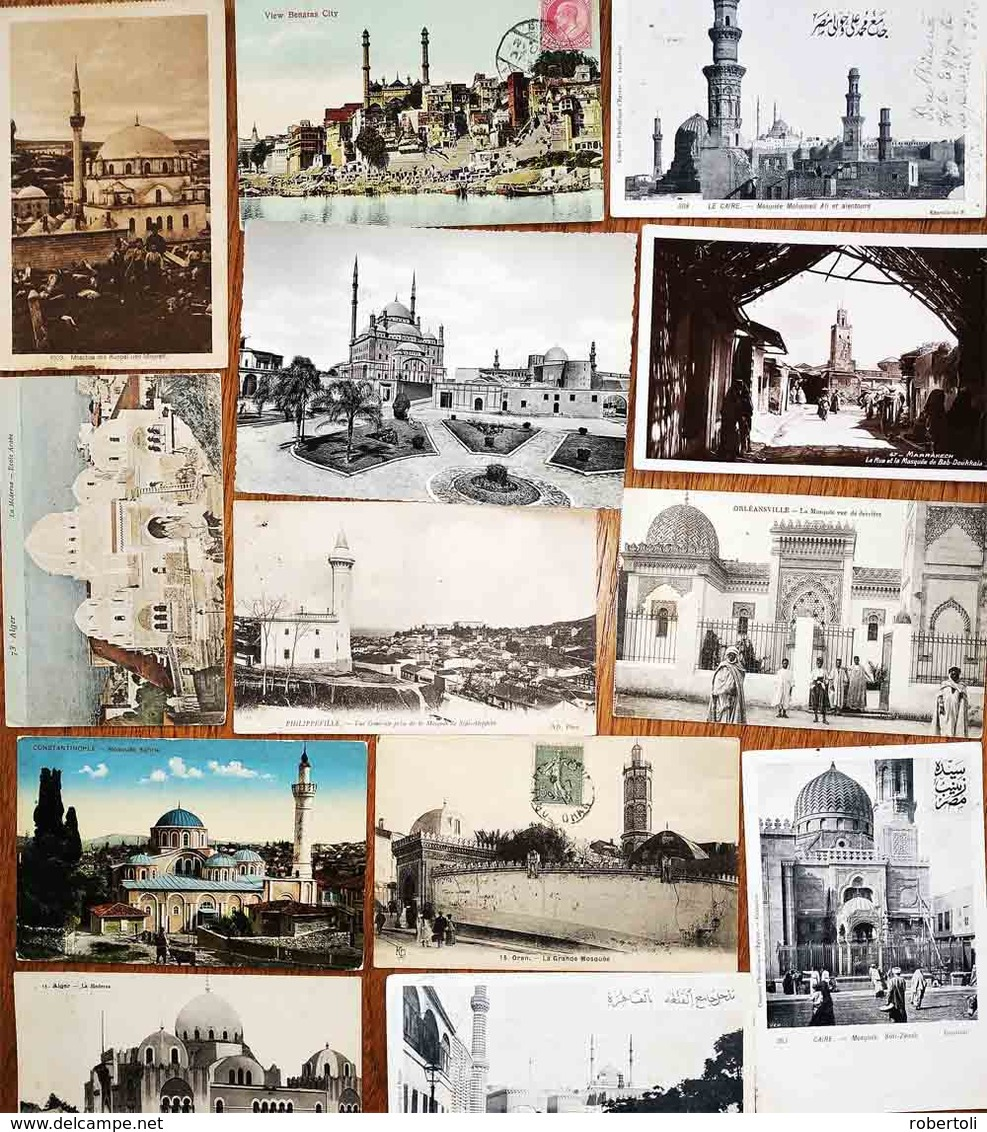 Last Price € 799 !!!  - MOSQUEES - 1.000 Postcards Worldwide (850 Postally Used) - Postcards