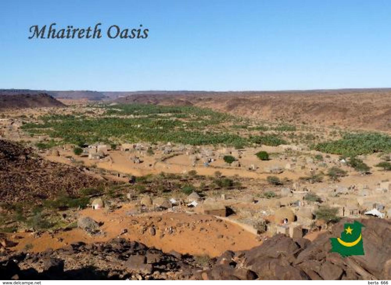 Mauritania Mhaireth Oasis New Postcard Mauretanien - Mauretanien
