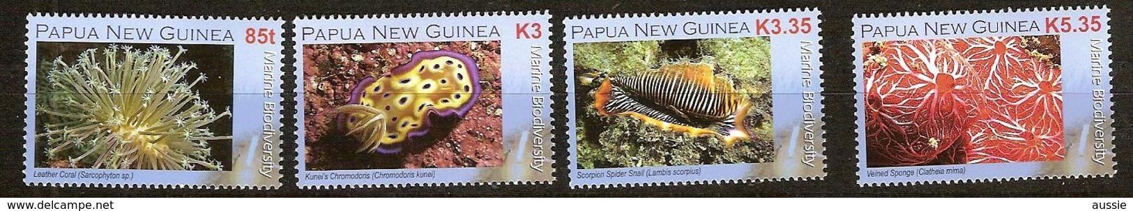 Papouasie Papua New Guinea 2008 Yvert 1203-1206 *** MNH Cote 12,15 Euro Faune Marine - Papúa Nueva Guinea