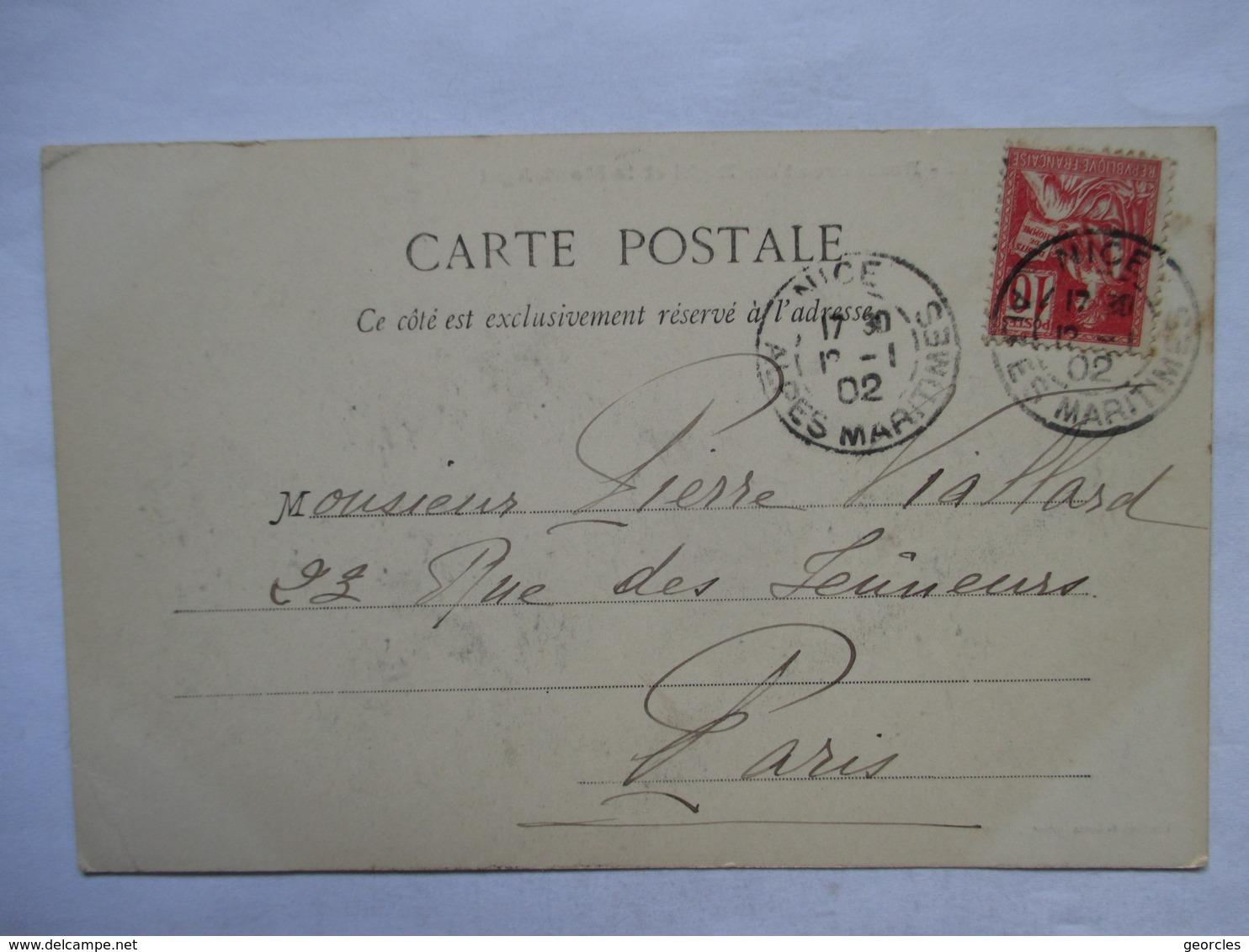 DAGUIN  JUMELEES   -  NICE  -    LA  TURBIE        ......     TTB - Poststempel (Briefe)