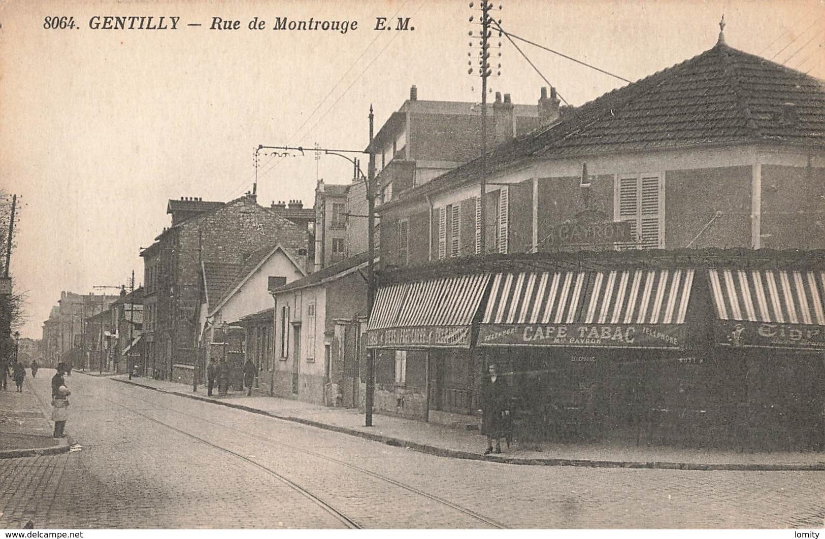 94 Gentilly Rue De Montrouge Commerce Café Tabac - Gentilly