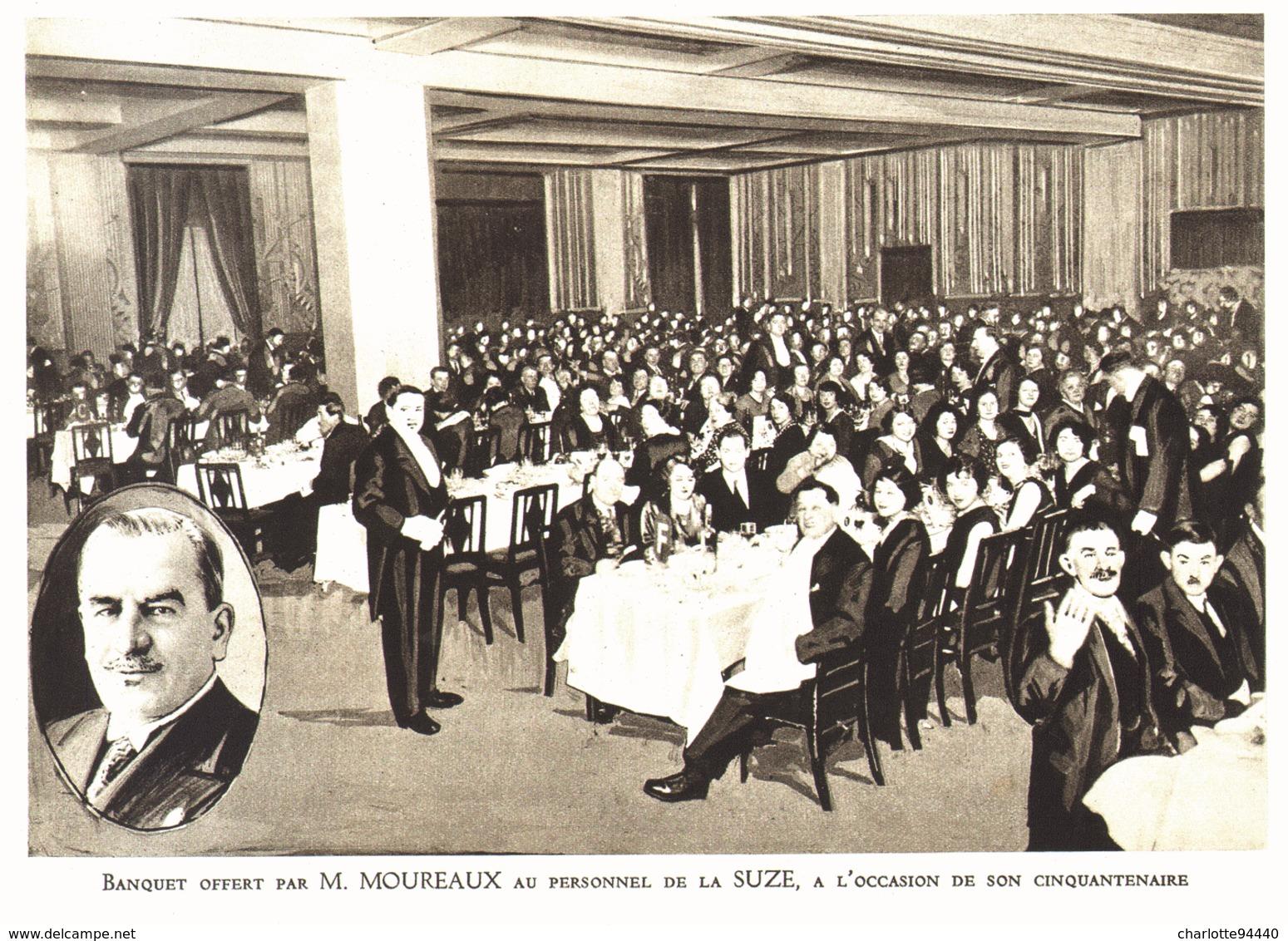 """PUB  """" SUZE """"    1933 ( 4 ) - Autres Collections"""