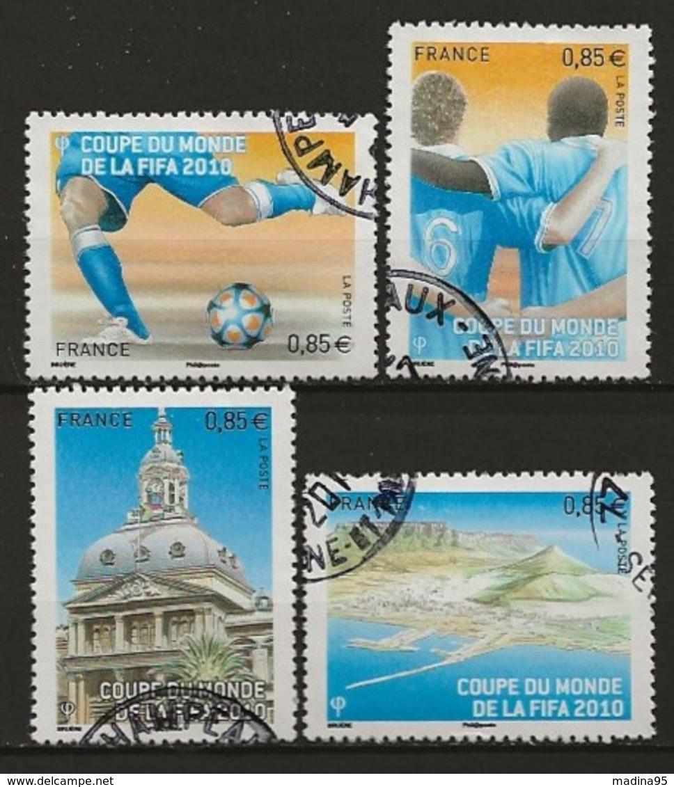 FRANCE:, Obl., N° YT 4481 à 4484, Sérei, TB - Gebraucht