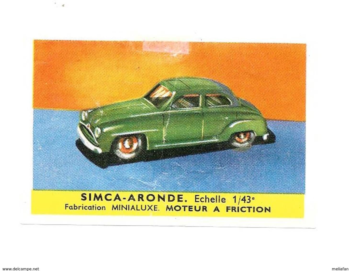 KB1375 - IMAGE CAFE MASDA - SIMCA ARONDE - Cars