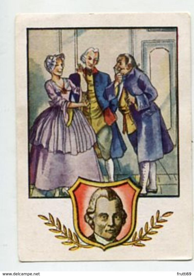 SB06382 Wagner Qualitätsmagarine - Album 2 - Deutsches Denken Und Schaffen - Nr.17 Gotthold Ephraim Lessing - Cromo