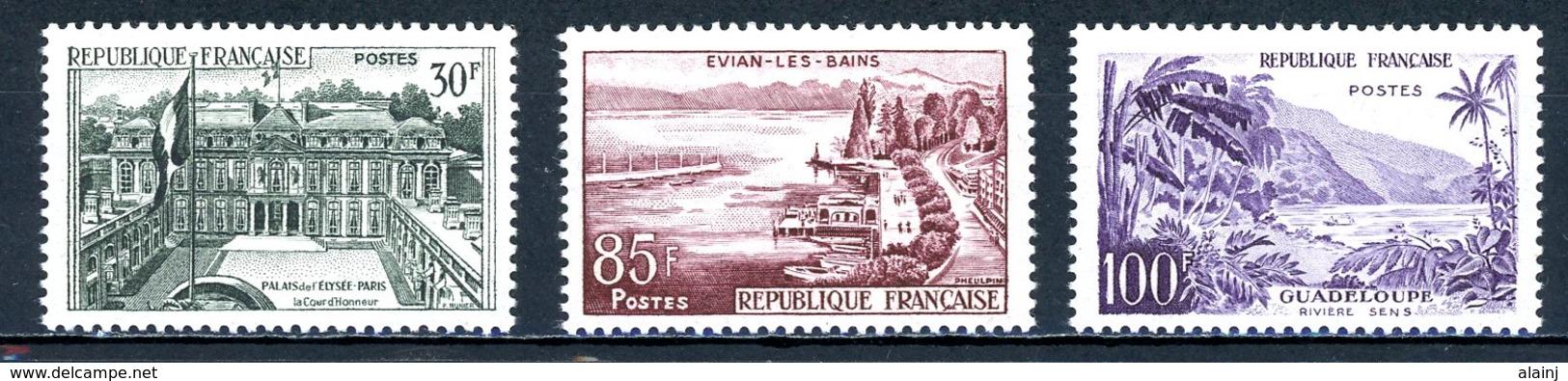 France   Y&T   1192 - 1194   XX    ---    Excellent état. - Frankreich