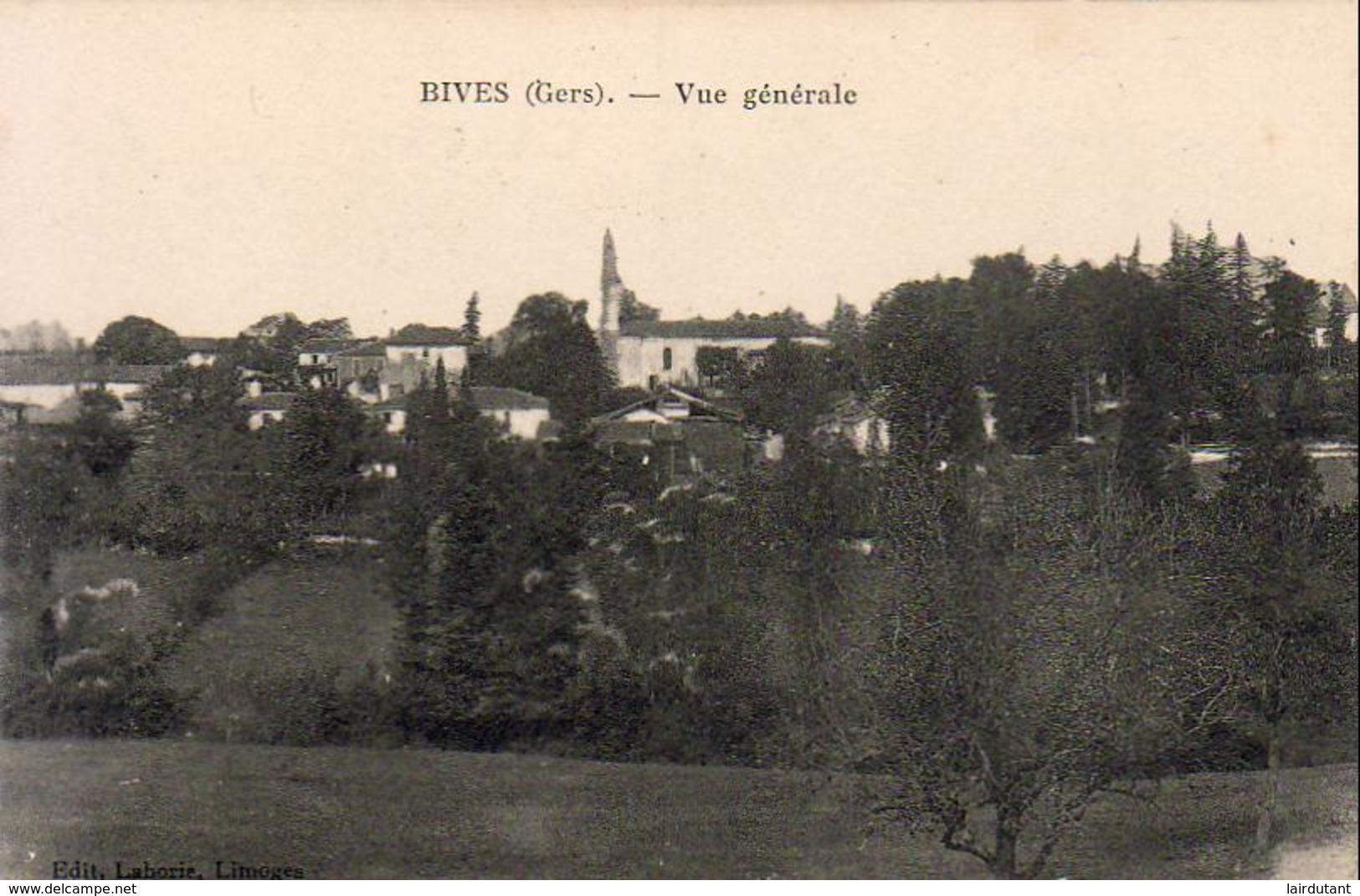 D32  BIVES  Vue Générale - France