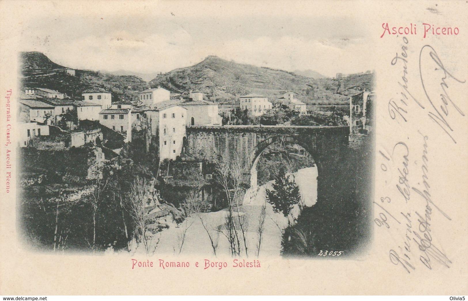 ASCOLI PICENO - PONTE ROMANO E BORGO SOLESTA' - Ascoli Piceno