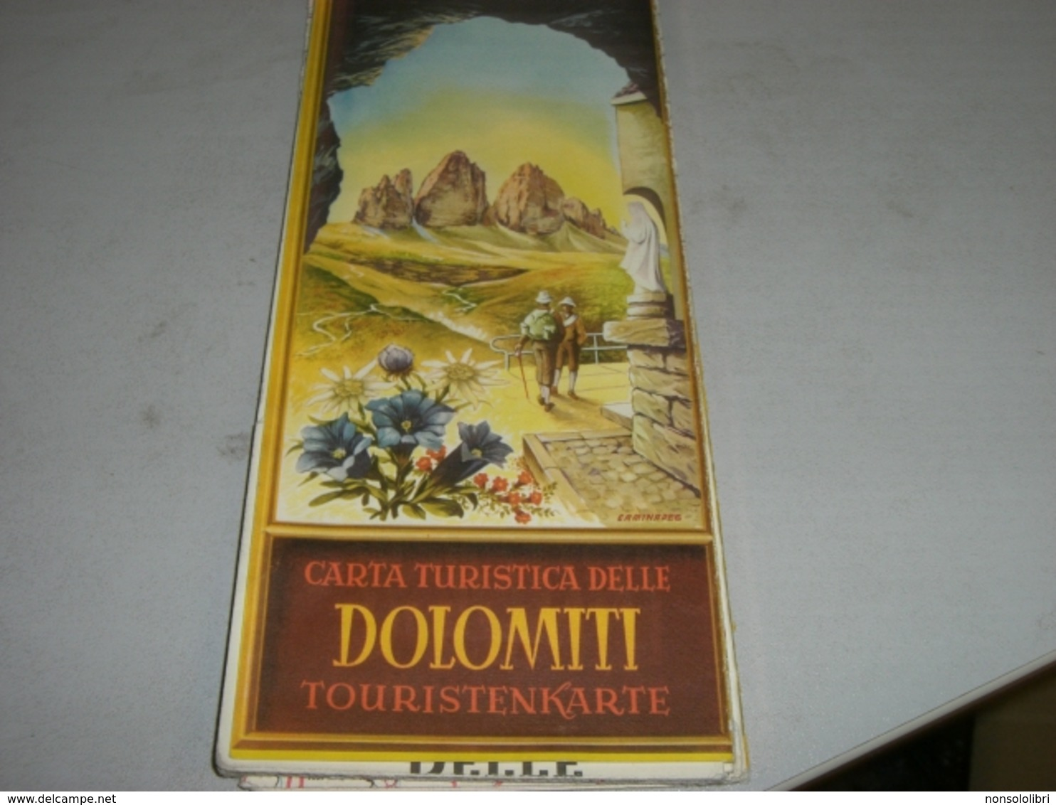 CARTA TURISTICA DELLE DOLOMITI - Toeristische Brochures