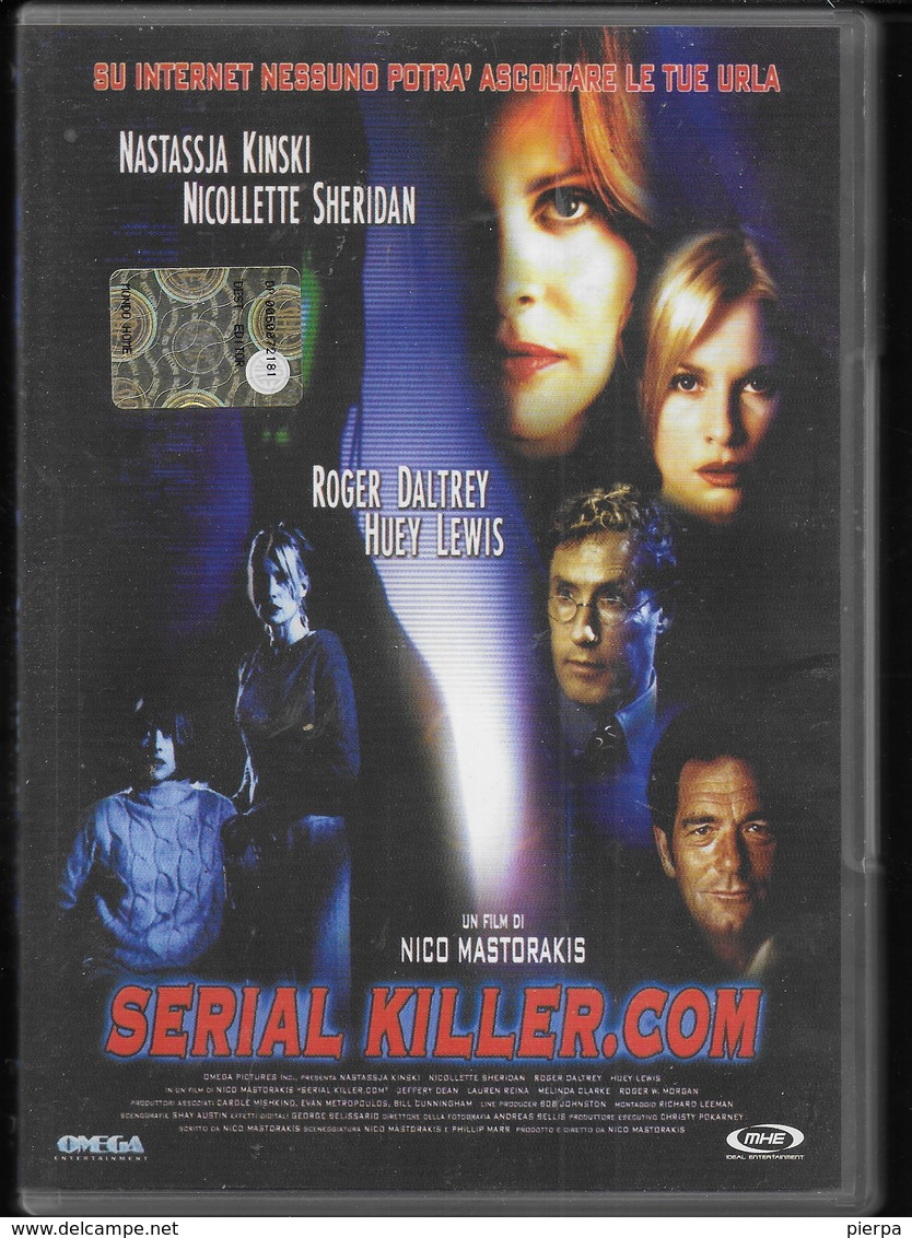 DVD - SERIAL KILLER.COM - THRILLER - 2007 - LINGUA ITALIANA - Policiers