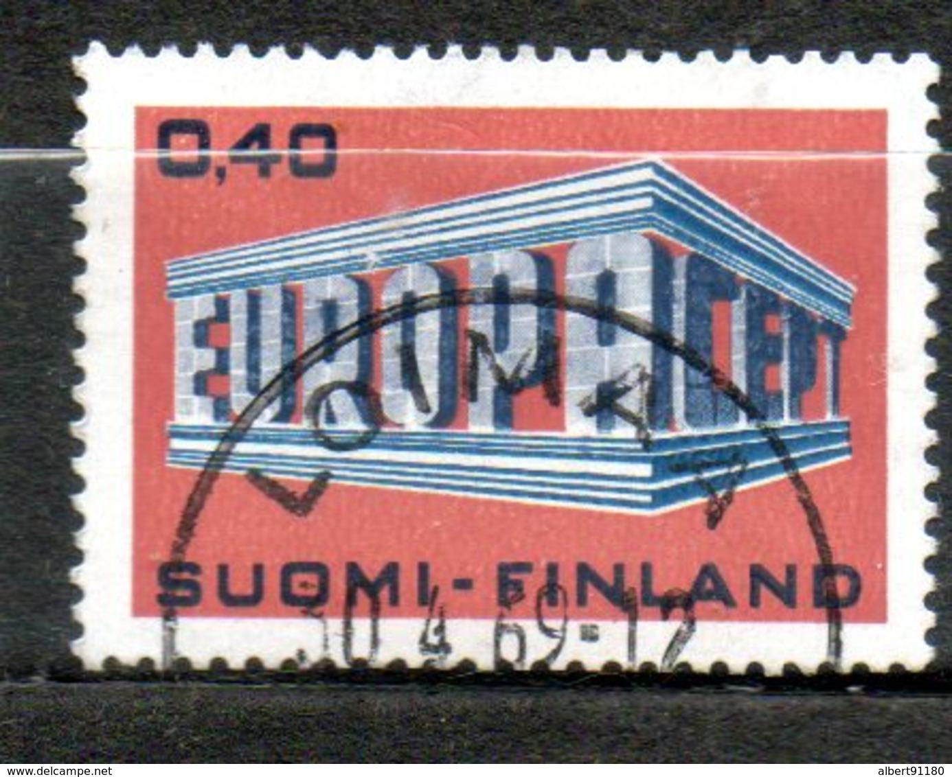 FINLANDE  Europa 1969 N° 623 - Oblitérés