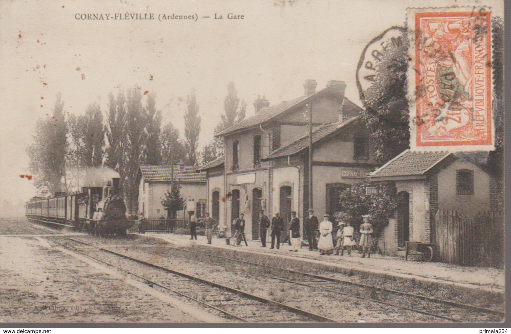CORNAY - LA GARE - France