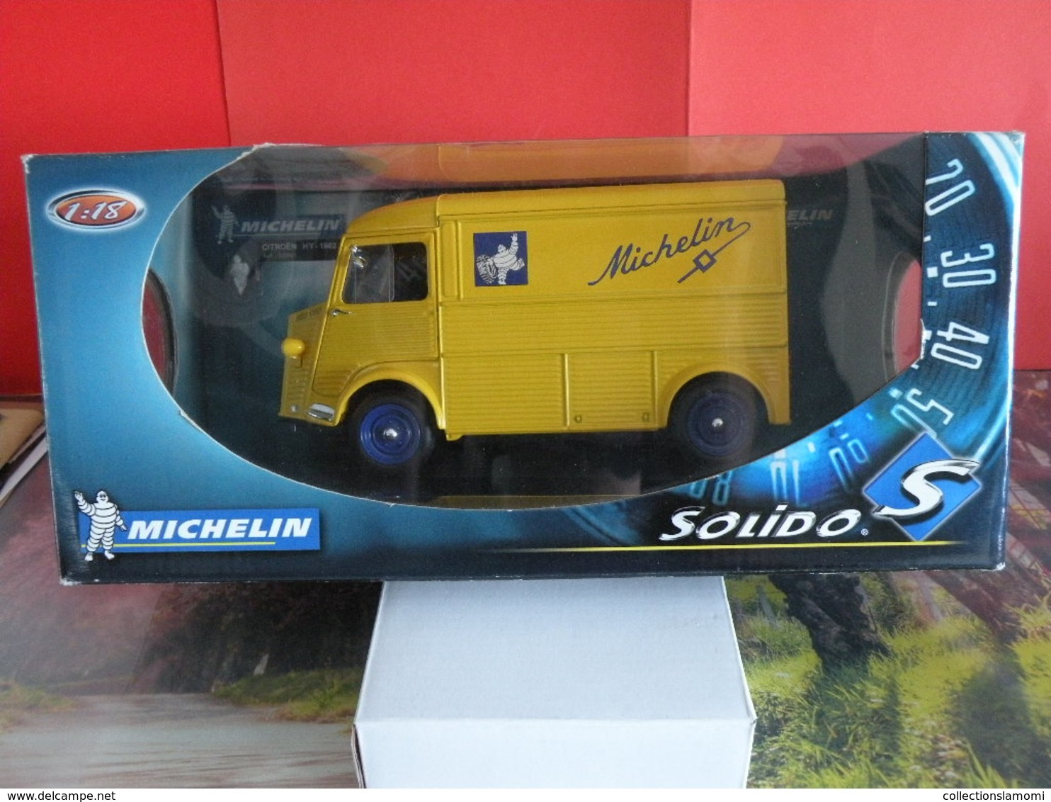 Citroën HY - Michelin - Métal Neuf - 1/18 - Solido - - Publicitaires - Toutes Marques