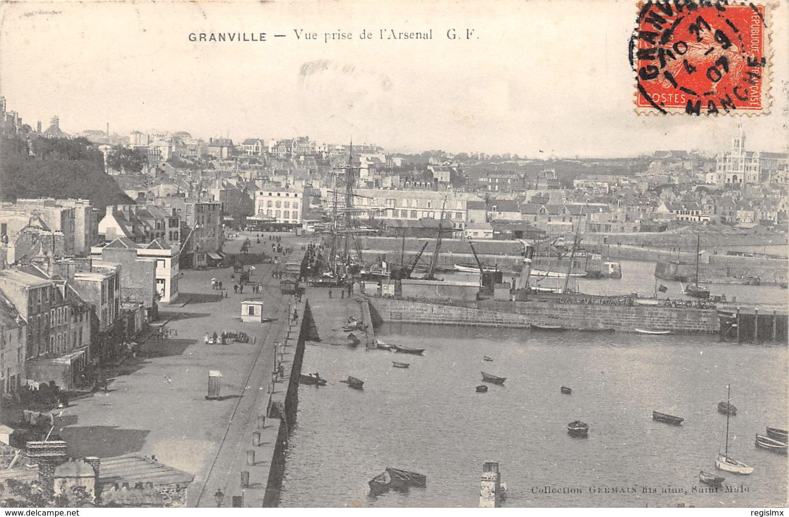 50-GRANVILLE-N°2031-C/0109 - Granville