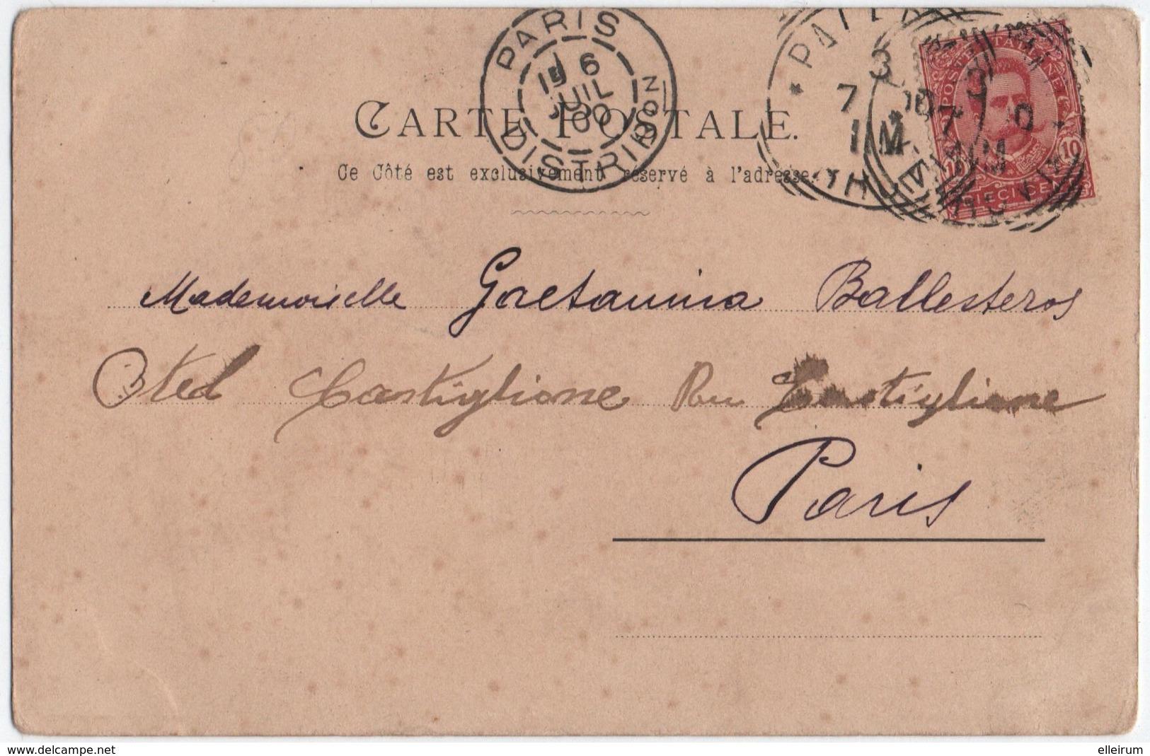 ILLUSTRATEUR RENN GIGERL. HOMME ELEGANT Sur Un CHAMP De COURSES. 1900. - Autres Illustrateurs