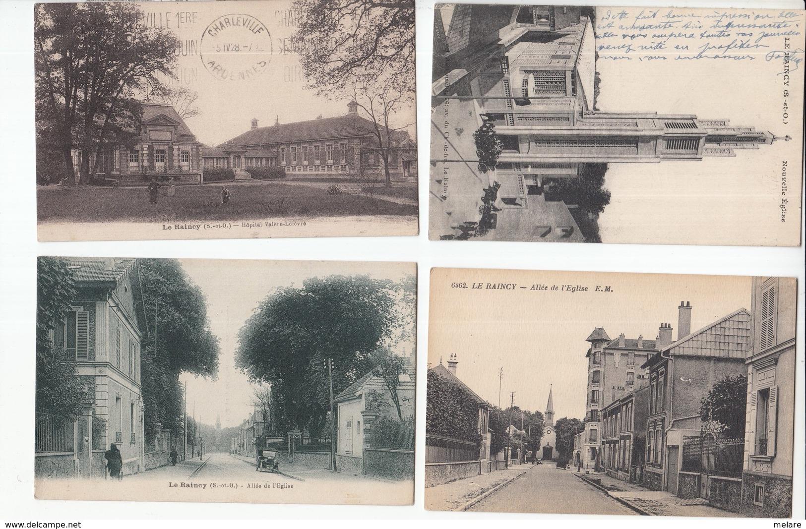 93 SEINE SAINT DENIS ILE DE FRANCE Lot De 12 Cartes Animations - Cartes Postales