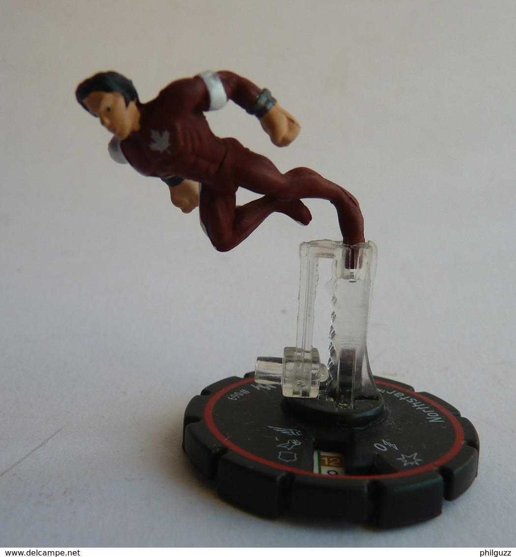 FIGURINE HEROCLIX MARVEL NORTHSTAR  Rareté 4 Socle ROUGE - Marvel Heroes