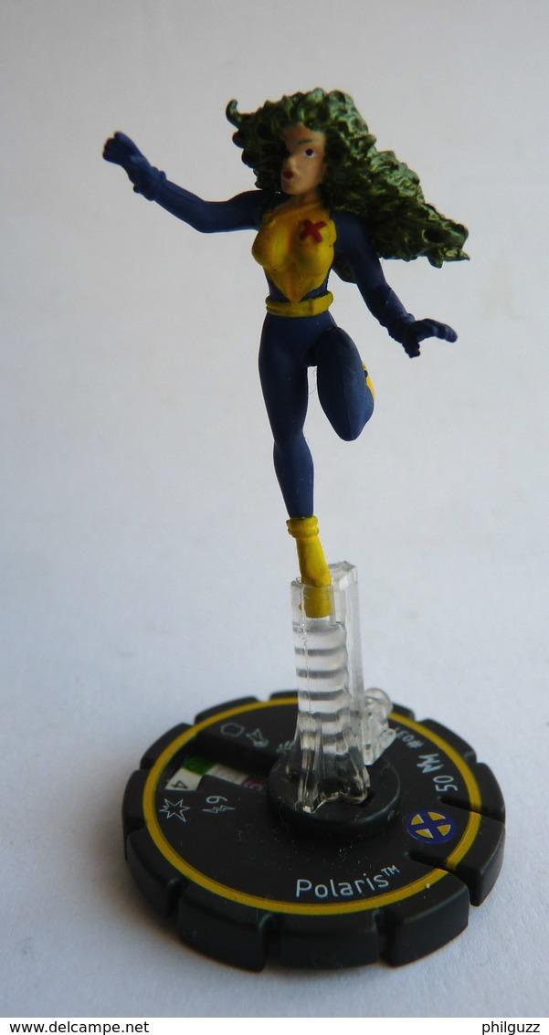 FIGURINE HEROCLIX MARVEL POLARIS Rareté 2 Socle JAUNE (2) - Marvel Heroes
