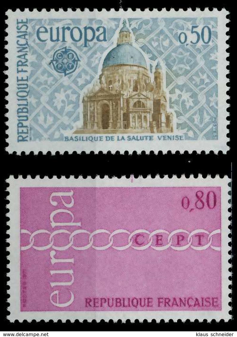 FRANKREICH 1971 Nr 1748-1749 Postfrisch SAAA7E6 - Ungebraucht