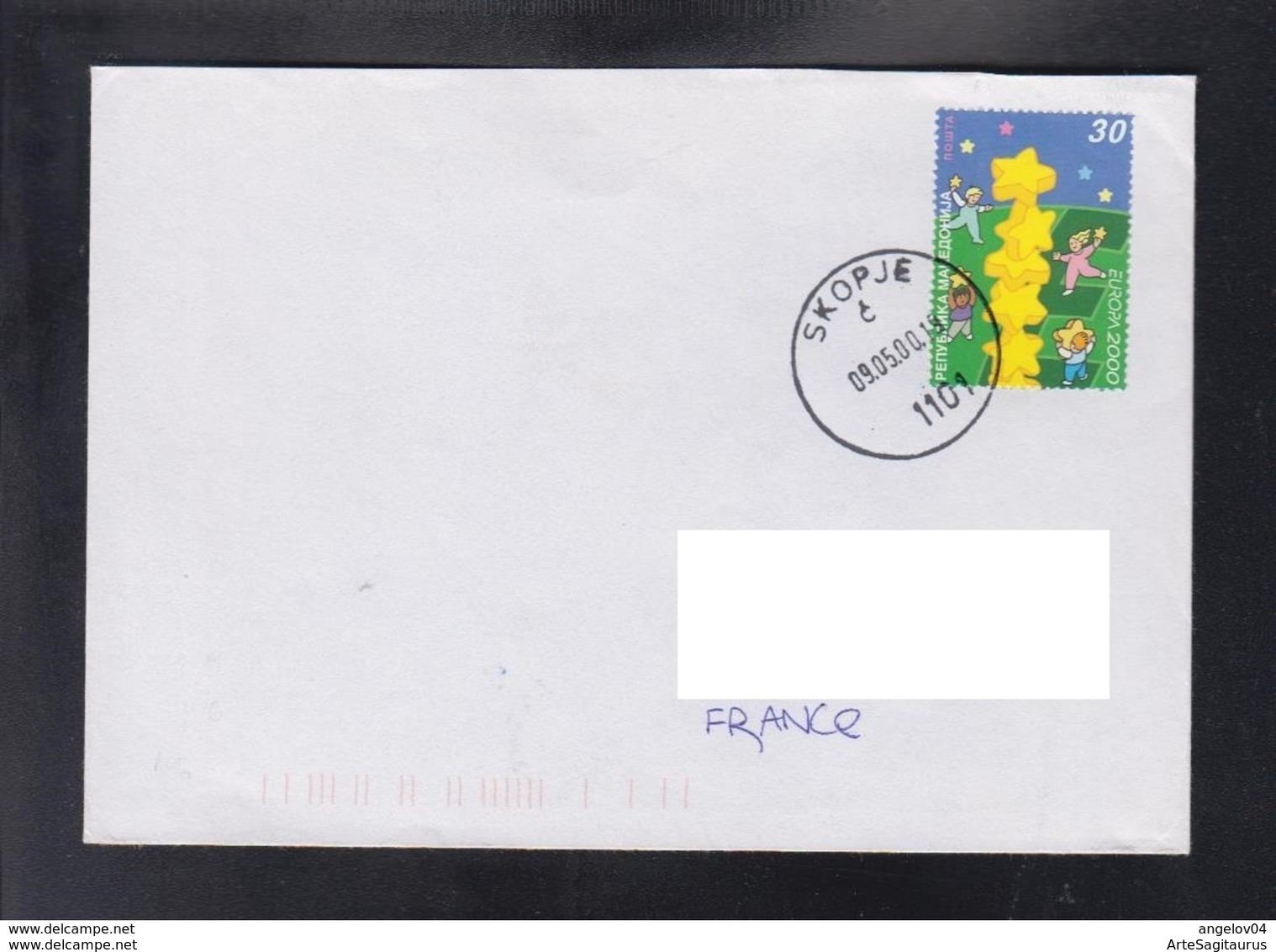 REPUBLIC OF MACEDONIA, 2000, COVER, MICHEL 196 - EUROPA 2000 / SLOVENIA ** - Europa-CEPT