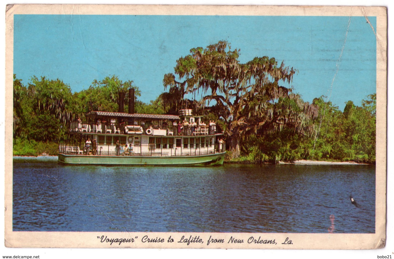 """6917 - New-Orlléans ( LA ) USA - """" Voyageur"""" Cruise To Lafitte From New-Orleans - - Other"""