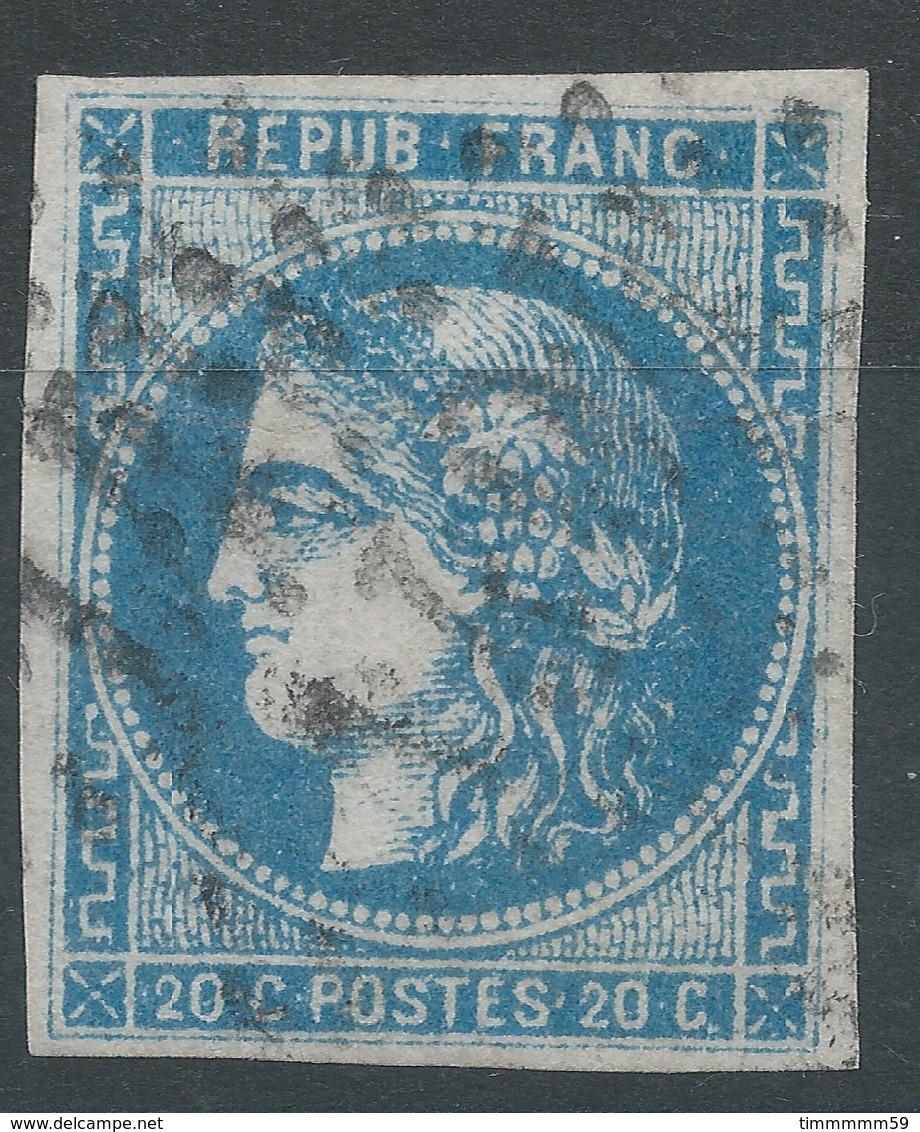Lot N°52763  N°45A, Oblit GC 1407 Ernée, Mayenne (51), Bonnes Marges - 1870 Emissione Di Bordeaux