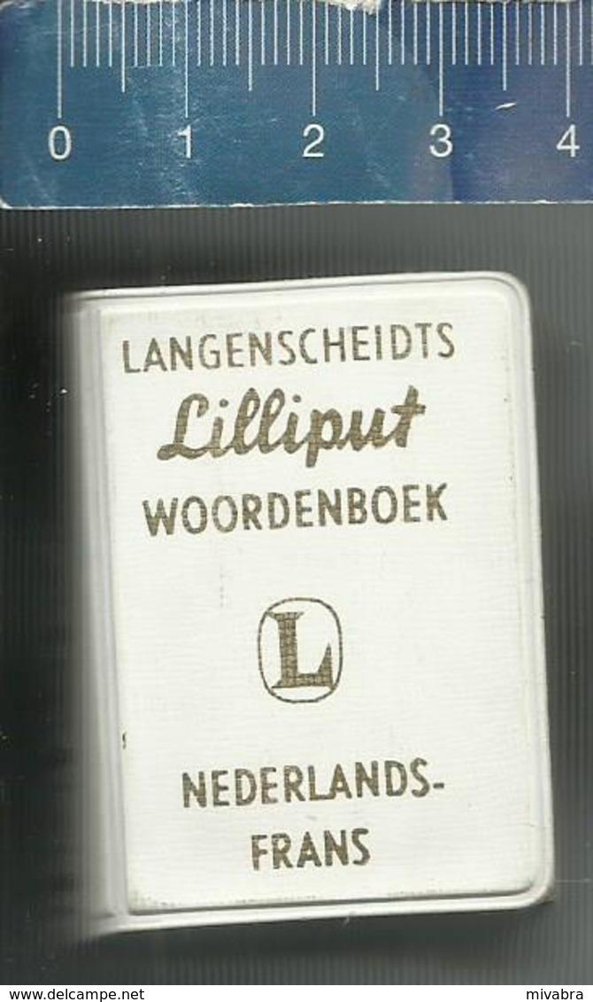 LANGENSCHEIDTS LILLIPUT WOORDENBOEK NEDERLANDS - FRANS - Dictionaries