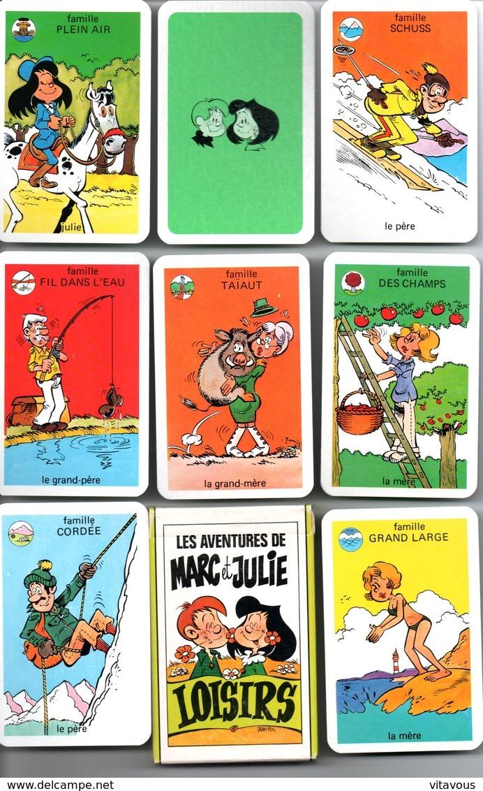 Jeu De 7 Familles Les Aventures De Marc Et Julie Loisirs - TBE - Otros