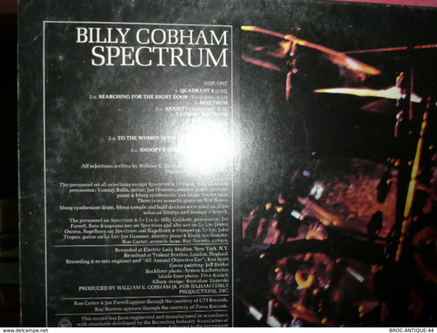 LP N°2238 - BILLY COBHAM - INNER CONFLICTS + 2 AUTRES DISQUES EN FIN DE PISTES OU A NETTOYER ? ***** FUNK FUSION - Jazz